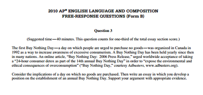 Ap comp argument essay scoring